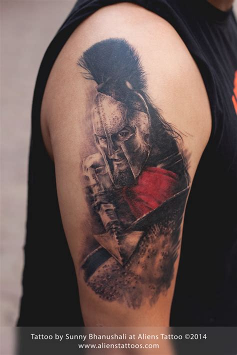 tattoo documentary pin leonidas 300 on