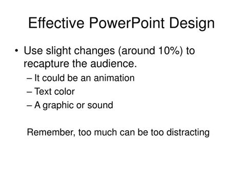 design effective powerpoint presentation ppt what makes a good powerpoint design powerpoint