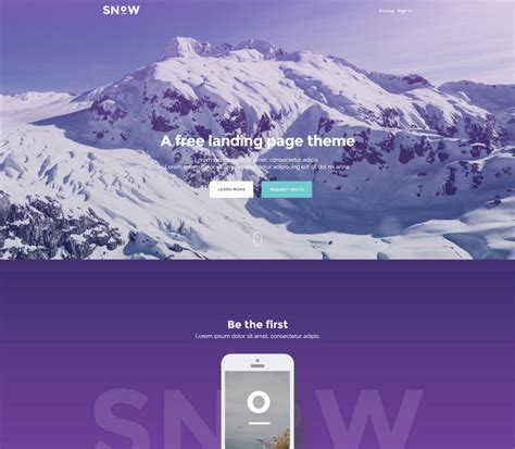 66 Free Responsive Html5 Css3 Website Templates 2018 Html5 Template Free 2017