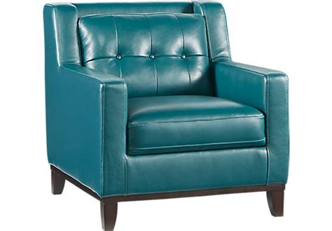 teal leather chair and ottoman reina green leather chair contemporary
