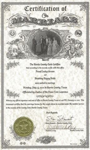 Marriage liscense in genesee county michigan