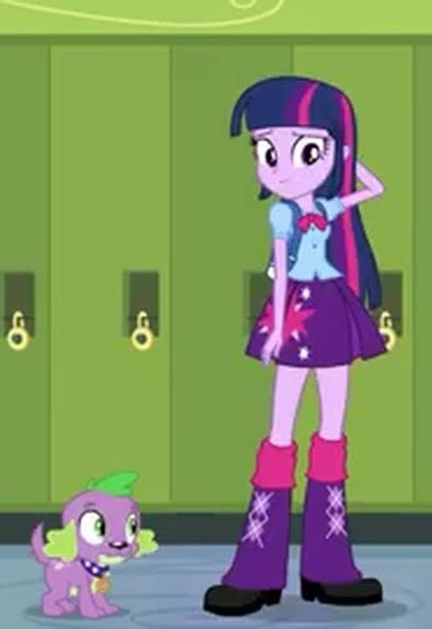 equestria girls twilight and spike image twilight sparkle human form and spike dog form png