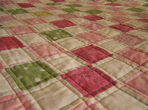 Pink Patchwork Quilt - pink and green patchwork quilt flickr photo