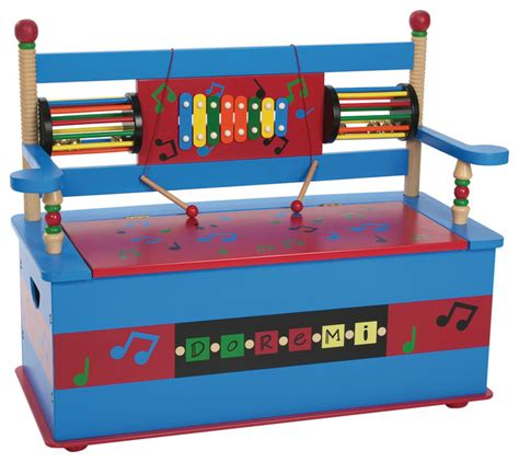 childrens storage bench seat musical bench seat with storage transitional kids