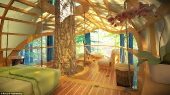 tree house bedroom e terra samara luxury tree house villas in canada s bruce