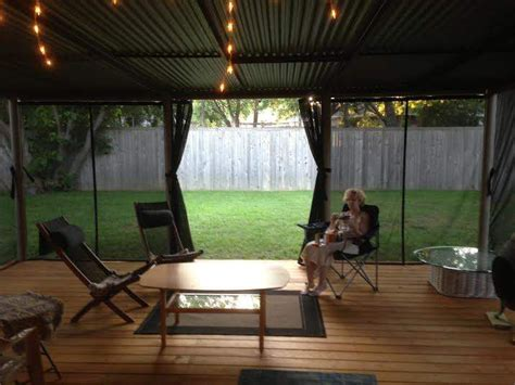 Outdoor Shade Screen Curtains   For Porch & Patio