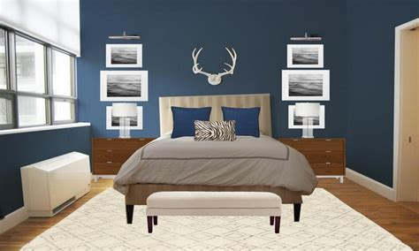 colors   small bedroom bedroom blue gray paint