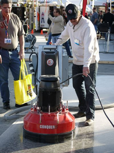 "Conquer25 25"" Concrete Grinder and Polisher"