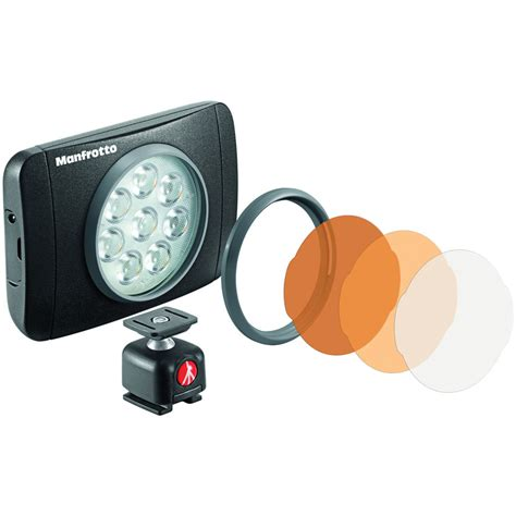 Manfrotto Lumimuse 8 On Camera Led Light Black Mlumiemu 8 Led Light