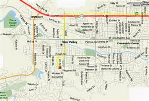 map of simi valley california motorcycle directions to simi valley