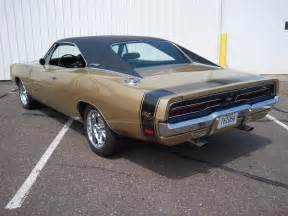 Gold Dodge Charger 1969 Charger R T Color Y4 Gold Poly