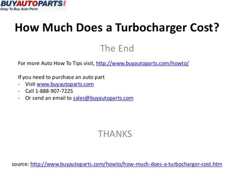 how much does c section cost how much does turbochager cost