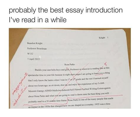 Intro For An Essay by Is This The Best Essay Introduction