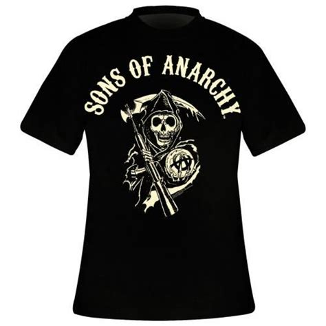 T Shirt Sons Of Anarchy 2 t shirt homme sons of anarchy classic reaper anarchy