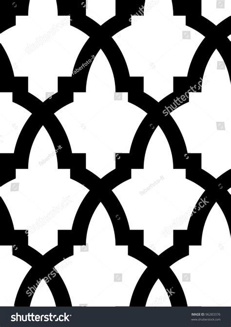 mosaic pattern black and white seamless mosaic pattern in arab style black and white