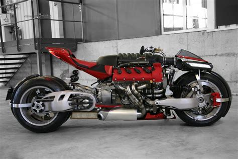Insane Lazareth Lm 847 Bike Uses A 470 Hp Maserati V8