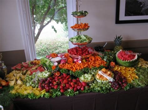 fruit table display photo gallery photo of a fruit vegetable display