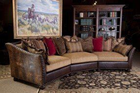 Fabric Leather Sofa Combination by Leather And Fabric Sectional Sofas Foter