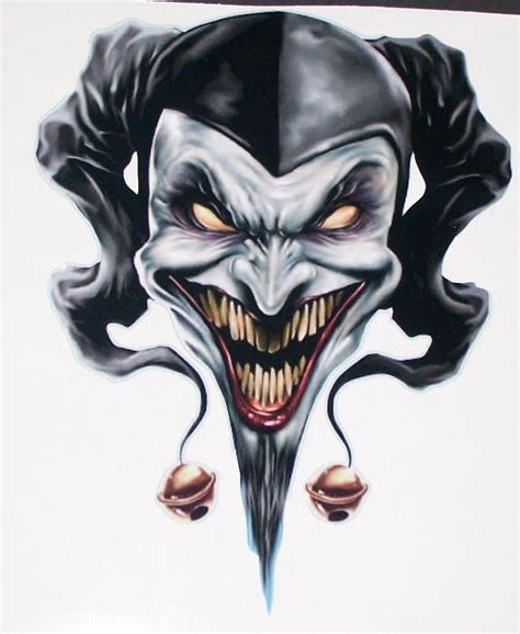 wicked clown tattoo designs best 25 jester ideas on clown
