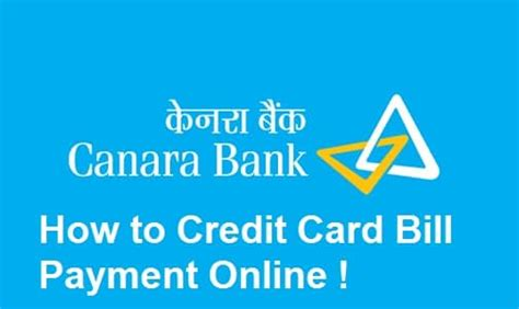 How To Pay Credit Card Bill With Visa Gift Card - how to pay canara bank credit card bill payment online customer care number reward