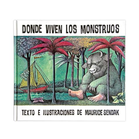 donde viven los monstruos 8484648583 libro donde viven los monstruos donde viven los monstruos