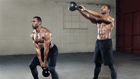 kettlebell swing loss emergency shred 2 week workout to get shredded