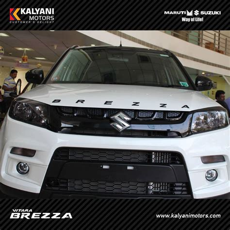 Maruti vitara brezza limited edition by kalyani motors grille indian autos blog