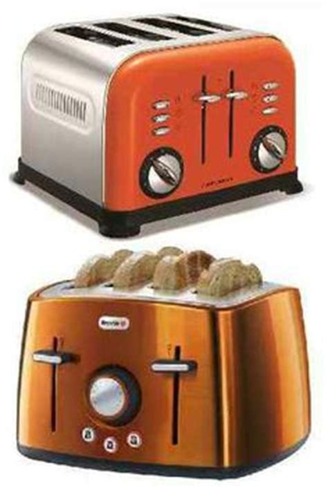 Compact 2 Slice Toaster Orange   Toasters and Compact