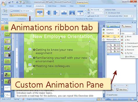 download animated themes for powerpoint 2007 download template animation powerpoint 2007 image