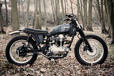 motorcycle videos bike exif vintage racers kawasaki w650 scrambler via bike exif