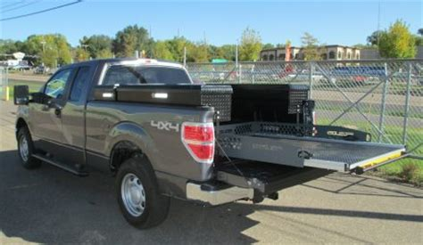 slide out truck bed tool boxes real lite 1608 for 5 5 autos post