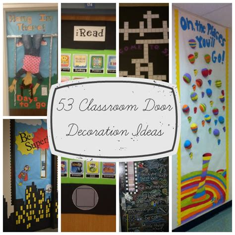 how to decorate your classroom for back to school youtube 53 classroom door decoration projects for teachers