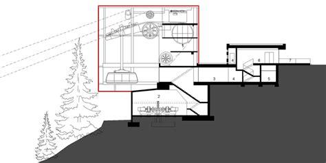 Kitchen Design Floor Plans roland baldi architekt ski lift in monte ivigna