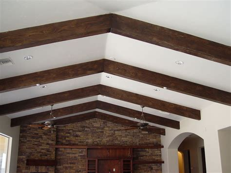 how to install a faux ceiling beams med art home design