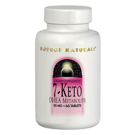 supplement 7 keto 7 keto dhea 50mg 60 tabs from source naturals all