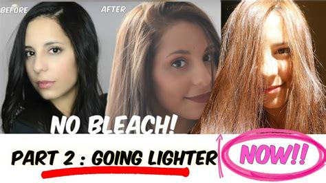 how to lighten my hair from black to light brown how can i dye my hair from dark brown to light without