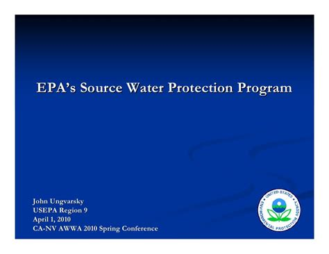 epa s epa s source water protection program
