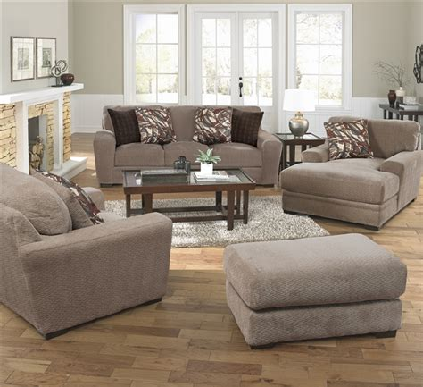 otter couch prescott sofa in otter chenille by jackson furniture