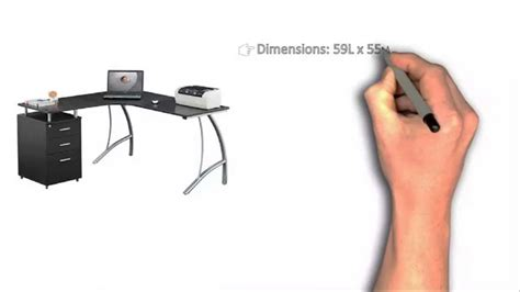 Ergocraft Ashton L Shaped Desk Desks Ergocraft Ashton L Shaped Desk Deskss