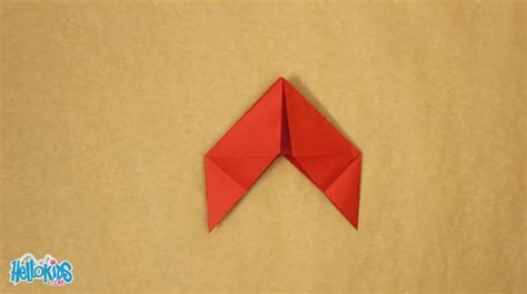 How To Make A Paper Bird That Can Fly - how to craft paper bird origami hellokids