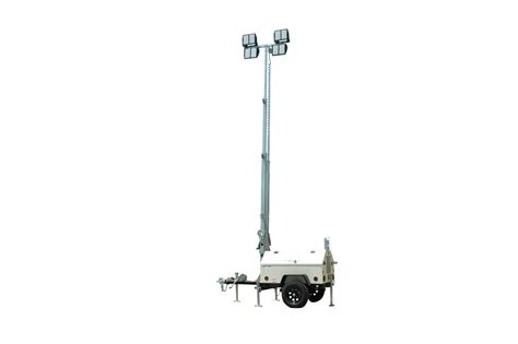 Mobile Led Light mobile led light tower with diesel generator released by