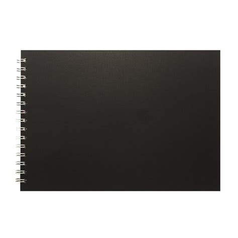 a4 black sketchbook a4 black paper landscape sketch pad pink pig sketchbook