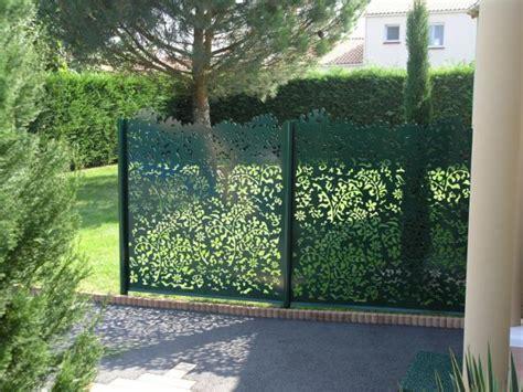 Plaque Separation Pour Jardin by Panneau Separation Jardin Cloture Terrasse Bois Chromeleon