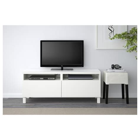 best tv bench best 197 tv bench with drawers lappviken white 120x40x48 cm