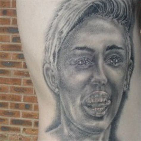 miley cyrus tattoo guy 42 year with 29 miley cyrus tattoos is getting