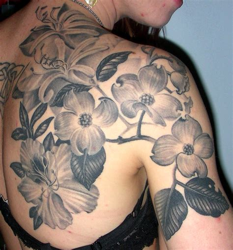 dogwood tattoo flower tattoos designs ideas and meaning tattoos for you