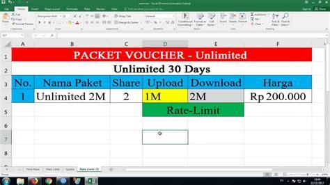 cara membuat voucher hotspot mikrotik versi lama youtube cara membuat paket voucher share user di usermanager youtube
