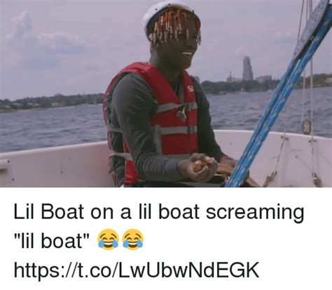 grant lil boat 25 best memes about boating boating memes