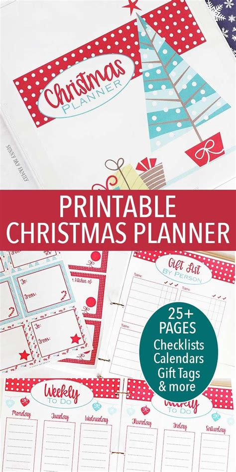 printable christmas planner pages 539 best christmas and winter images on pinterest