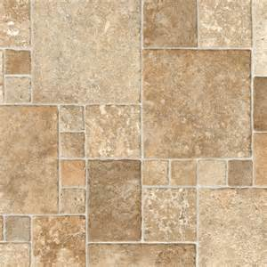 trafficmaster sandstone mosaic 12 ft wide vinyl sheet